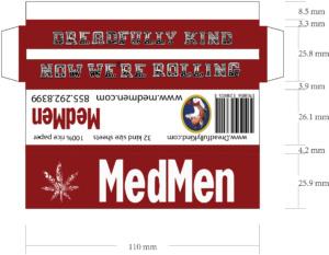 DK kind size pack MED MEN