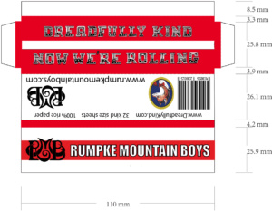 DK rolling paper kind size for advertisers