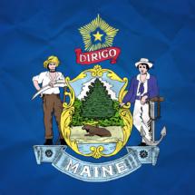 Maine Flag Crop