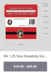 """DK 1.25"""" size pack"""