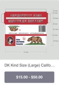DK Kind size pack CALIFORNIA