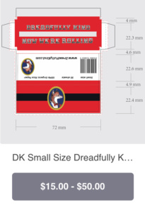 DK Small size pack