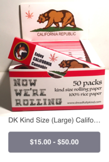 DK Kind size pack CALIFORNIA